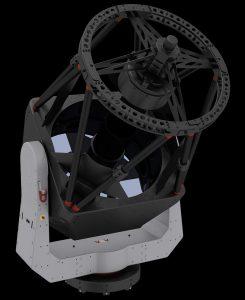 Макет на бъдещия телескоп.