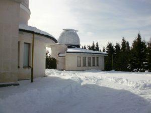 Наблюдателните кули на 50/70-см Шмит и 60-см Касагрен